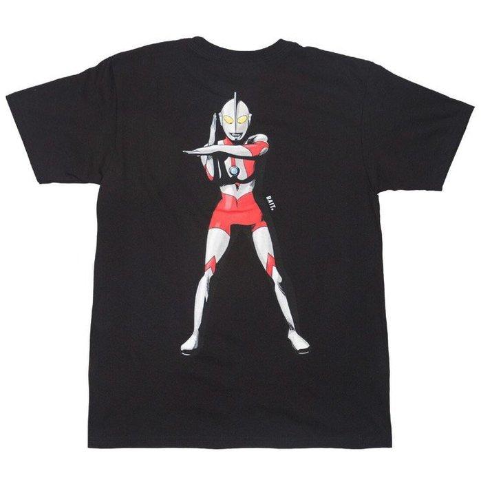 BEETLE 全新 現貨 BAIT 超人力霸王 Ultraman Specium Ray 奧特曼 黑 短 TEE
