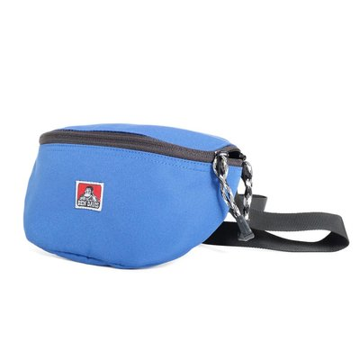 【Brand T】免運 BEN DAVIS WAIST POACH BAG 藍色*LOGO*腰包*側背包*小包*猿人