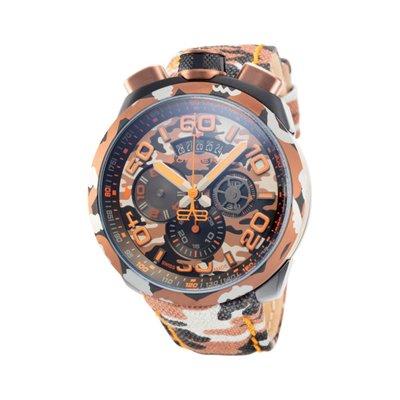瑞士製 Bomberg 炸彈錶43折!迷彩三眼藍寶石手錶男錶潛水錶軍錶*全新真品原廠包裝