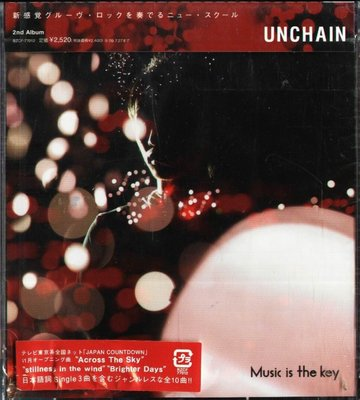K - UNCHAIN - Music is the key - 日版 - NEW