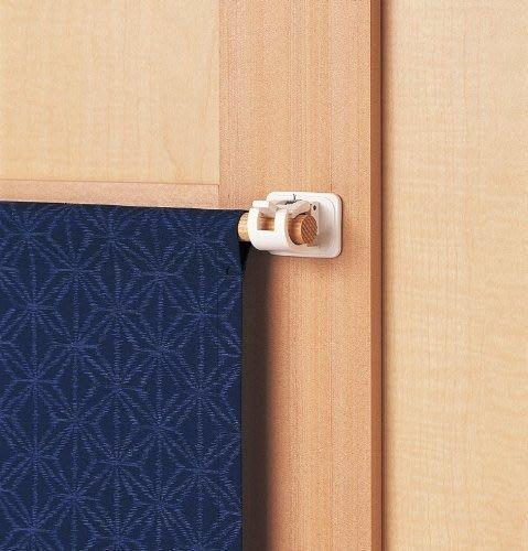 ~FUJIJO~現貨~2組裝價錢  日本【LEC】固定窗簾桿門廉桿桿勾掛鉤 不想用釘的又怕掉超好用 2個一組×2