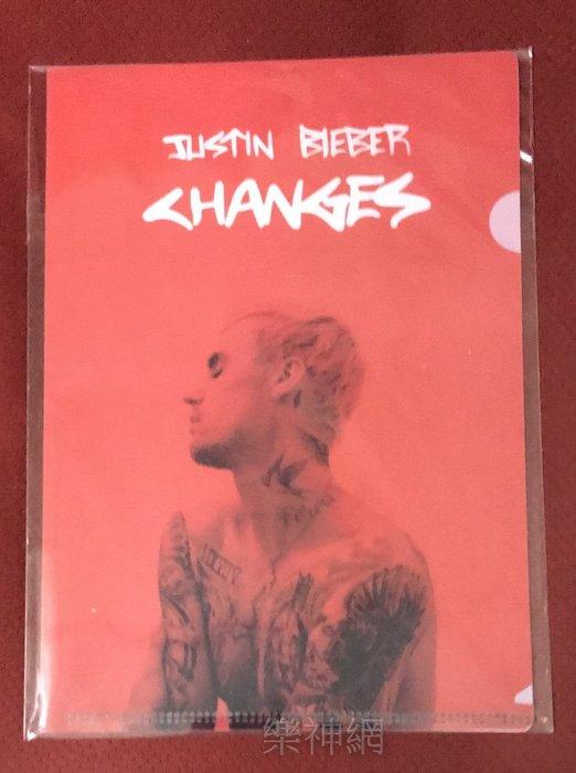 小賈斯汀Justin Bieber 我的改變Changes【台版迷你資料夾(文件夾)】全新