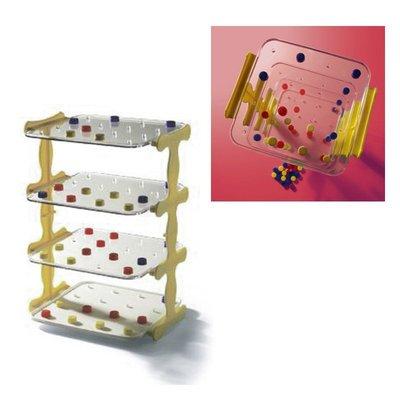 【晴晴百寶盒】台灣品牌 立體連線賓果 WISDOM 益智遊戲 教具益智遊戲 環保無毒玩具 檢驗合格W913