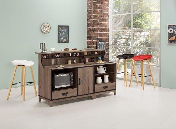 ~哈珀5.3尺中島型吧台桌組合1846397-1A~巧匠家具批發廣場~