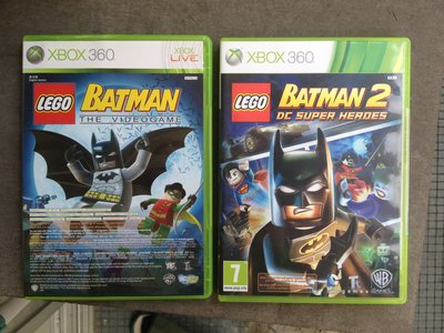 Lego Batman 1 The Videogame + 2 DC Super Heroes + Pure xbox 360 xbox360/ONE game