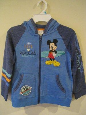 Disney 米老鼠男童外套 2T, 4T
