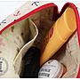✿小布物曲✿手作文青船錨化妝包- 精巧手工車縫製作.進口布料質感超優