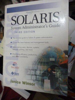 買滿500免運 / 崇倫《Solaris System Administrator's Guide (3rd Editi