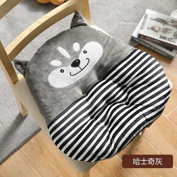 SX千貨鋪-卡通地上坐墊辦公室久坐椅墊女教室可愛ins座墊餐椅夏天透氣