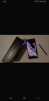 行貨 Samsung note 9 (Black)