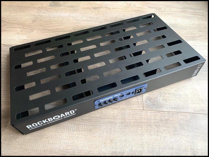 【全新品】Warwick Rockboard QUAD 4.2 效果器盤+MOD 2 集線盒~效果器盒效果器包效果器箱