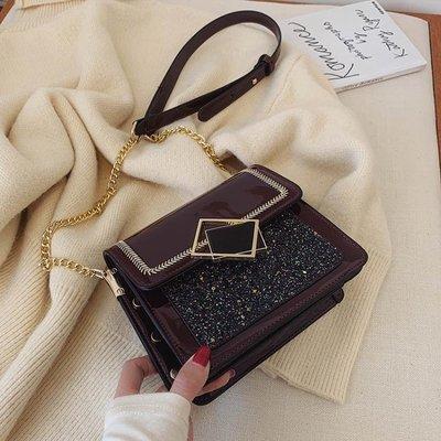 【秋季新品】 今年流行的包包INS超火鏈條包女新款韓版時尚百搭單肩斜背包 koko時裝店 快速出貨