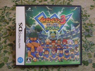 現貨『懷舊電玩食堂』《純正日本原版、附盒書、3DS可玩》【NDS】閃電十一人 3 閃電11人 3 邁向世界的挑戰 閃光版