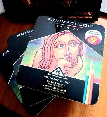 美國Prismacolor Premier 48色色鉛筆~《3盒》贈小禮物