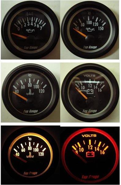 Top Gauge VDO STYLE 類三環錶任選三顆(含錶座感應器)(( 可貨到付款 )