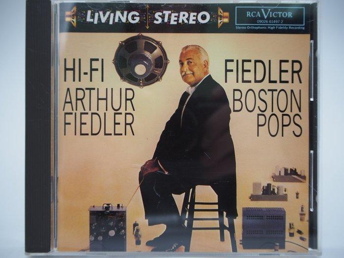 【月界二手書店】Hi-Fi Fiedler_Boston Pops·Arthur Fiedler_古典樂 〖專輯〗CIR