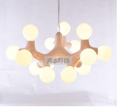 {美學}家裝燈具 簡約客廳吊燈藝術燈1...