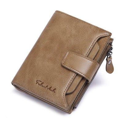 【FQ包包】可抽式卡夾 皮夾 真皮皮夾 頭層牛皮  短皮夾 中皮夾 零錢包  SDF 1342