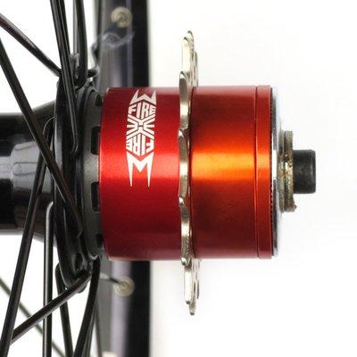 自行車配件 腳踏車配件 變速改單速車FIRE EYE 9to1九轉一卡式飛輪轉換座墊圈12~18T齒片 良品優舍