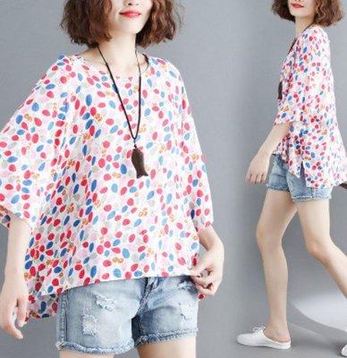 2號店 減齡女裝文藝簡約小清新氣質上衣寬松洋氣大碼夏裝顯瘦短袖t恤衫