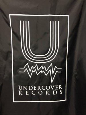 undercover 黑色 教練外套 風衣外套 近全新 L