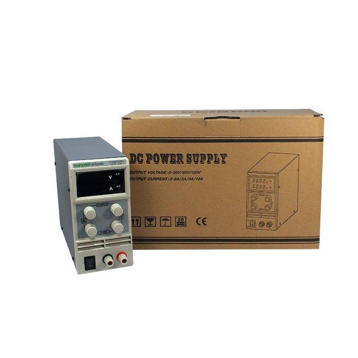 保固一年 台灣版 開發票 110V 專用 KPS-305D 直流電源供應器 (可面交) 30V/5A 可調 迷你電源