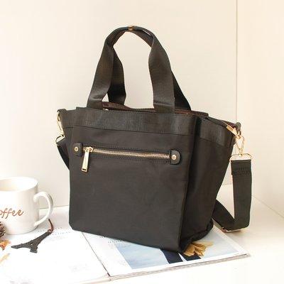 【里樂@ LeaThER】防潑水尼龍多隔層托特包 手提包 側背包斜背包肩背包 779