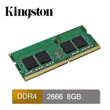 Kingston 金士頓 DDR4 2666 8GB 筆記型記憶體 全新免運~~