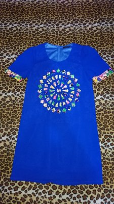 MOMA 經典款寶藍色連身裙/洋裝(81)