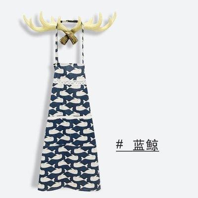 特惠❧圍裙韓版時尚廚房袖套可愛圍裙防油罩衣成人女半身家用做飯圍腰裙 米米旗艦店