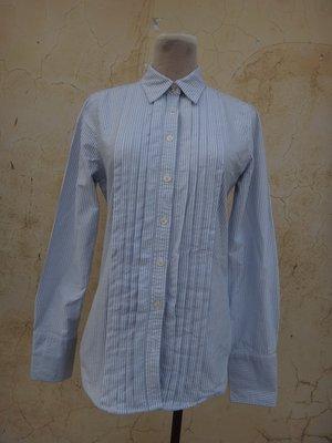 jacob00765100 ~ 正品 RALPH LAUREN POLO JEANS CO. 藍色條紋 長袖襯衫 Siz