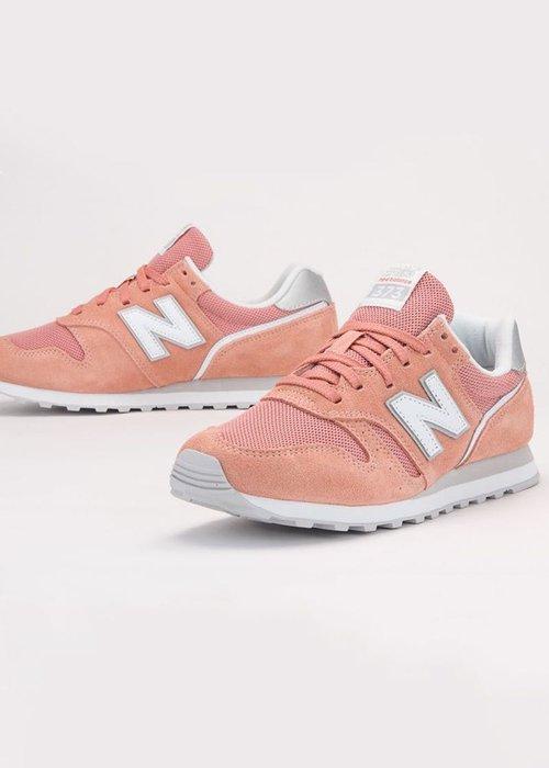 ➕S.P➕ 女鞋 NEW BALANCE  麂皮 373系列 NB 復古 慢跑鞋 粉橘 WL373AC2