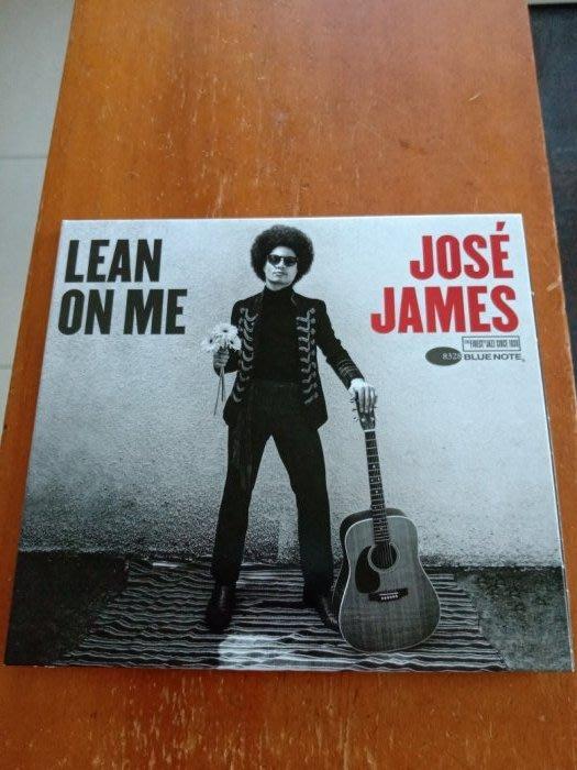 Jose James 荷西詹姆斯 - Lean On Me 與我相依 cd  含側標 99.999新