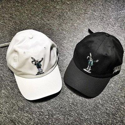 【Result】Arrogant Dabbin Rabbit cap black/white 老帽 彎帽簷