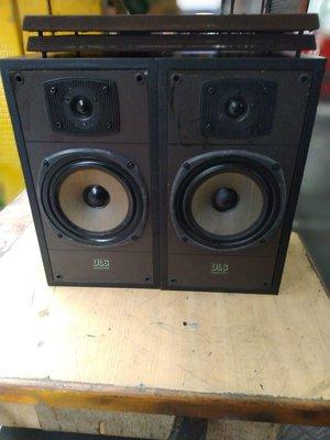 英國 CELESTION DL-6 6吋兩音路 書架喇叭 品項很漂亮 功能正常