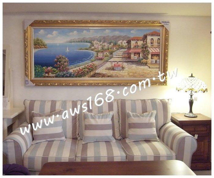雙海灣地中海油畫