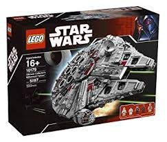 100% new Star Wars Lego millennium (1st edition limited)有編號 falcon 10179