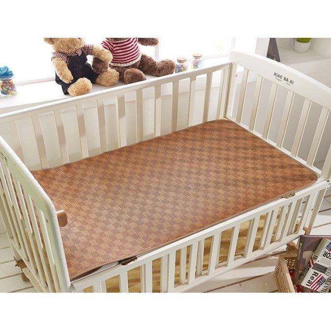 嬰幼兒涼蓆寶寶草蓆子嬰兒床搖籃藤蓆幼兒園兒童涼蓆