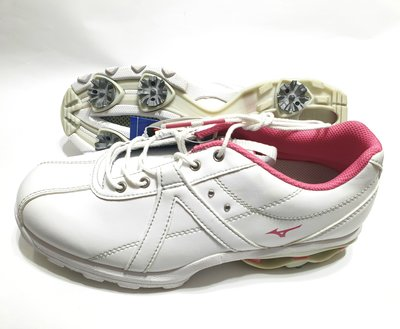 女用高爾夫球專業用釘鞋 01201  全新品, Mizuno台灣公司貨