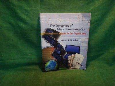 【愛悅二手書坊 05-32】The Dynamics of Mass Communication Media in the Digital Age