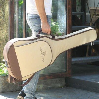 吉他包41寸加厚後背背包防潑水通用學生用民謠琴包套袋個性