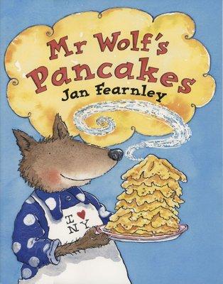 *小貝比的家*MR WOLF'S PANCAKES/平裝/3~6歲/童話故事 Fairy Tale