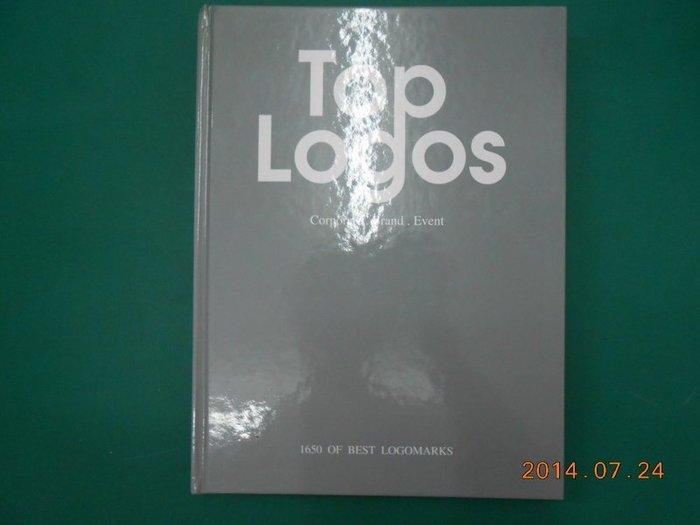 《Top Logos》七成新 2001年初版 溫紹明編輯 堂雍圖書出版 ISBN:9573027208 外觀破損,有水漬