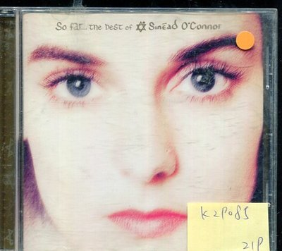 *真音樂* SINEAD O'CONNOR / SO FAR 二手 K29085