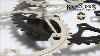 Rock scissors-OZOTW品牌-Fixed Gear單速車 二手再造物 專利單車齒輪造型掛鐘