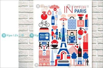 KIPO-無框畫 裝飾畫 帆布畫 城市...