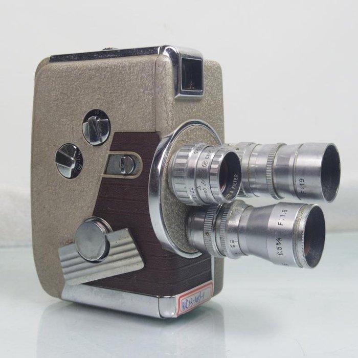 百寶軒 經典收藏REVEREModel848mm膠片電影攝影機純機械3鏡頭 ZG1903