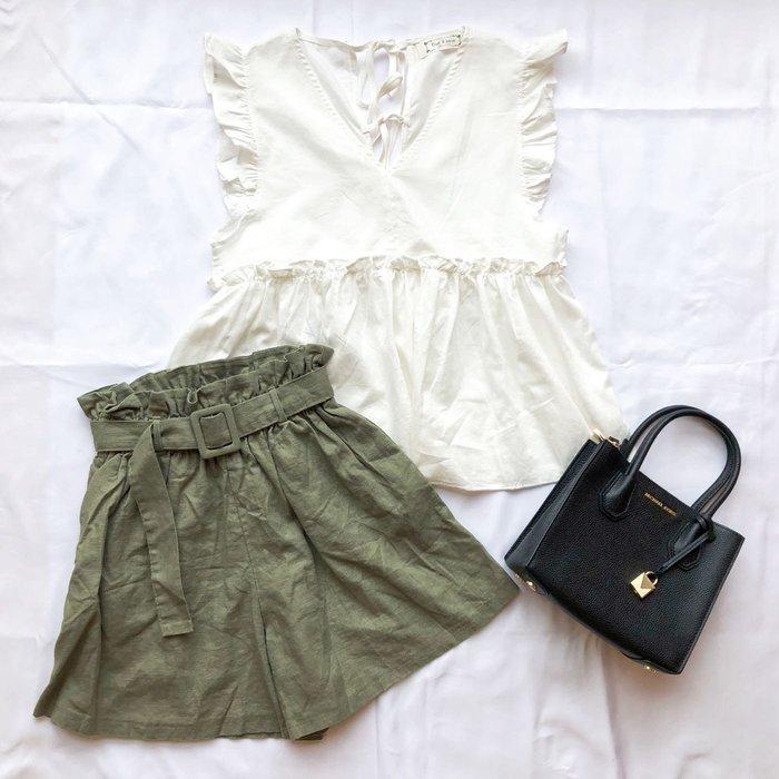 CCPlus韓國代購~特價!就是要顯瘦的棉麻褲裙