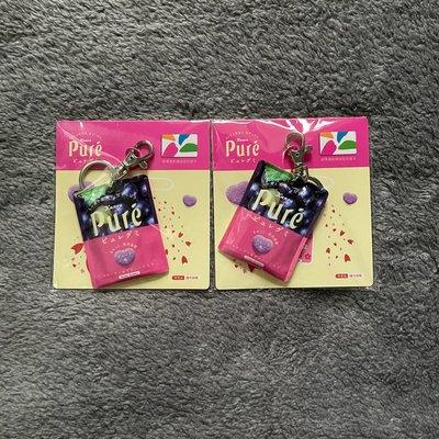 《現貨二個》Kanro Pure 甘樂 鮮果實 軟糖 造型 悠遊卡 葡萄 iCASH 賣場還有 櫻桃小丸子 hello Kitty 7-11 超商 限量 正暉