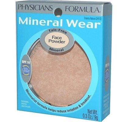 Physicians Formula [ 礦物質16小時無瑕粉餅 SPF16 ] Mineral Wear 全新品